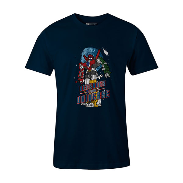 Defender of the Universe T shirt navy
