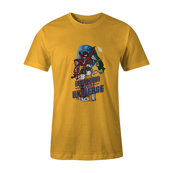 Defender of the Universe T shirt sunshine