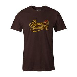 Demon Speedster T shirt brown