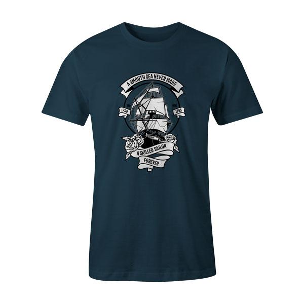 A Skilled Sailor T Shirt Indigo