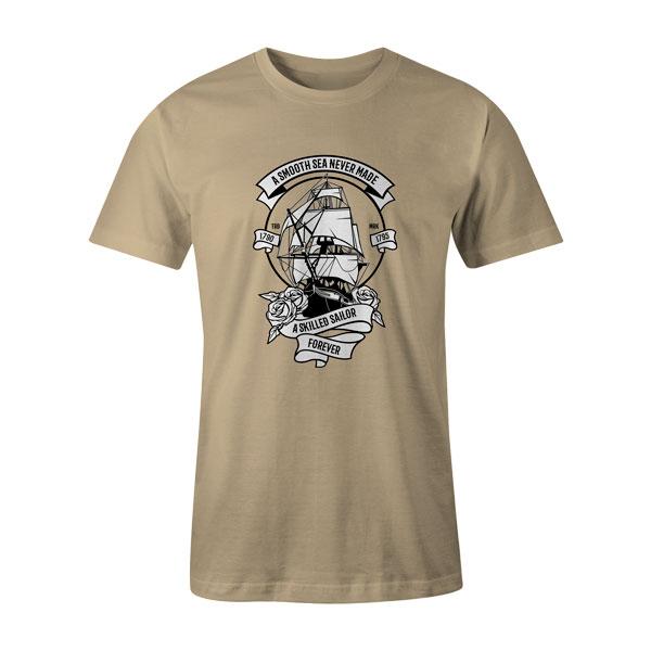A Skilled Sailor T Shirt Natural