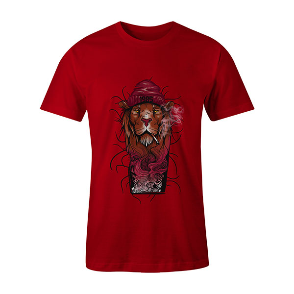 Fashion 85 T shirt red