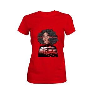 Feelings T shirt red