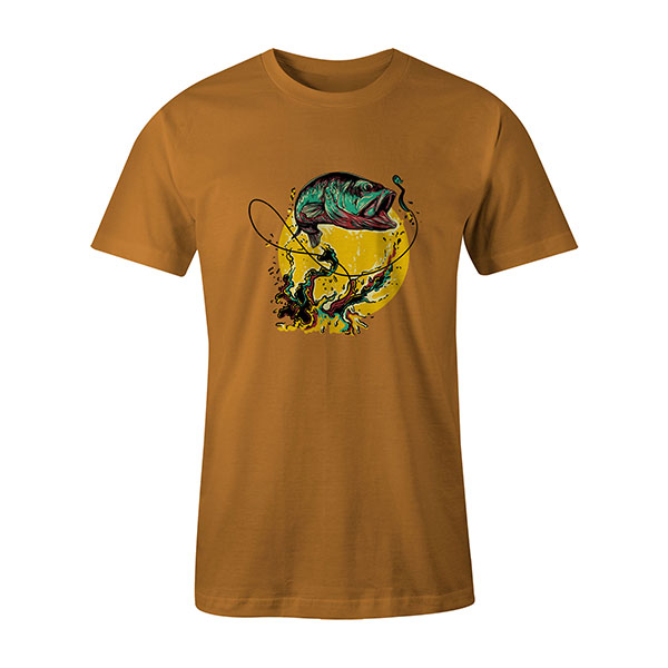 Fly Fishing T shirt ginger