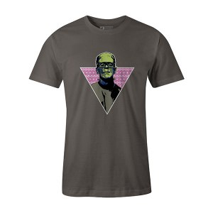 Franken Hipster T shirt charcoal