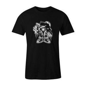 Bomber T Shirt Black