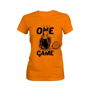 Just One Game T shirt classic orange