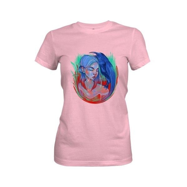 Little Bird T shirt light pink