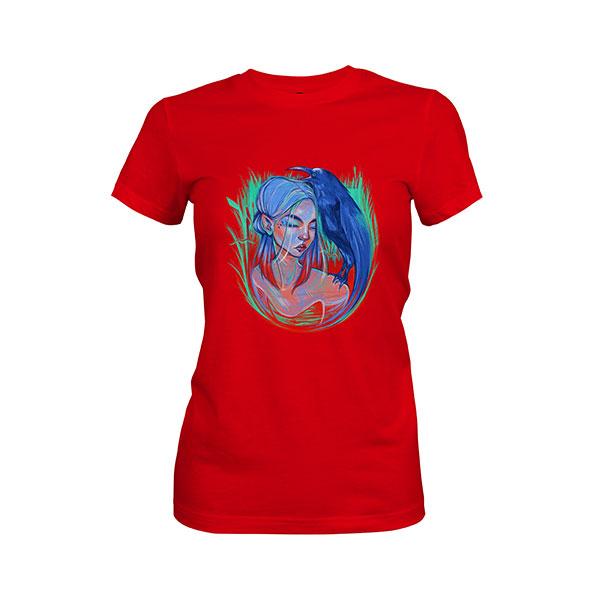 Little Bird T shirt red