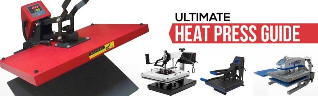 Top 4 Heat Press Machine Reviews