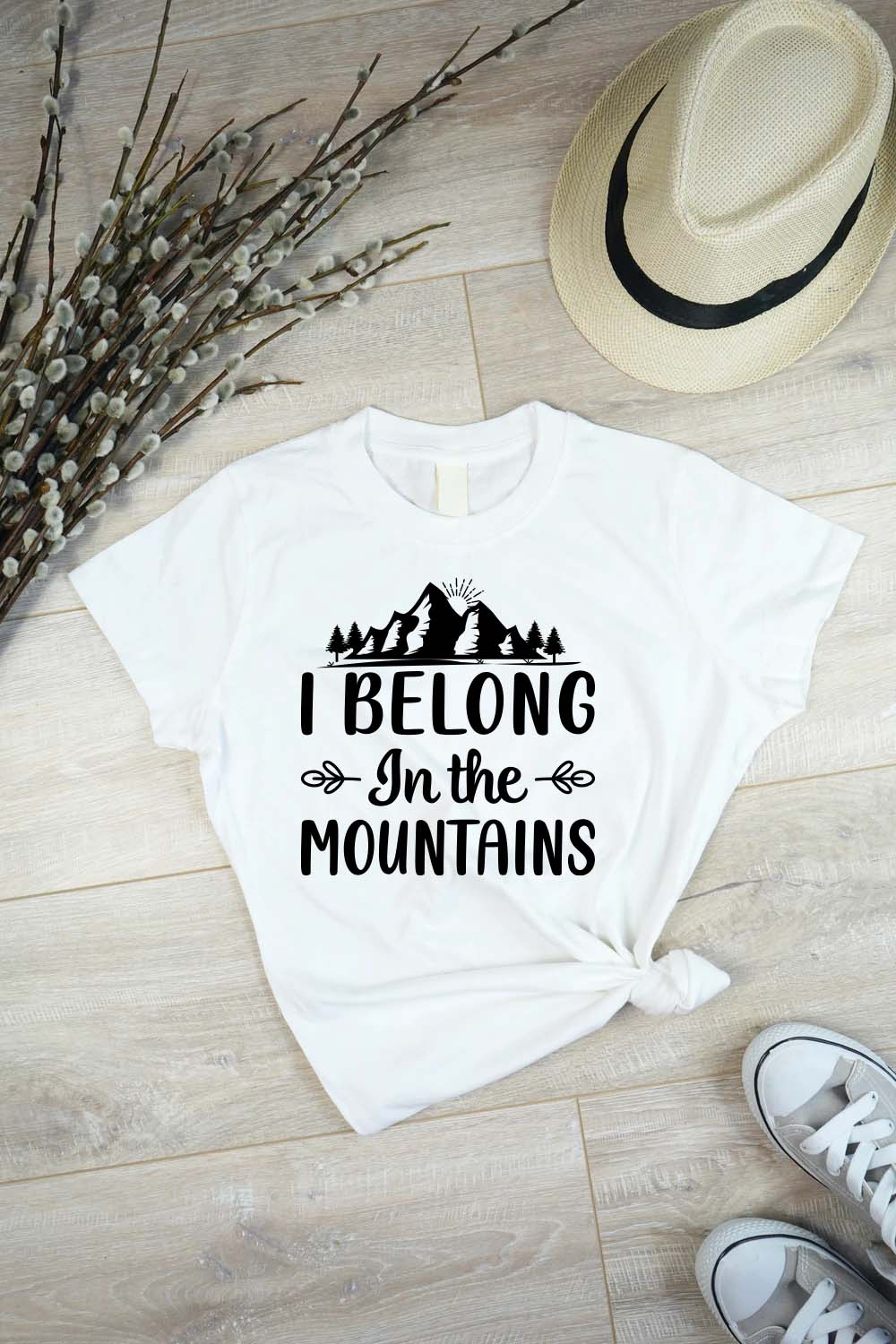 I BELONG IN THE MOUNTAINS