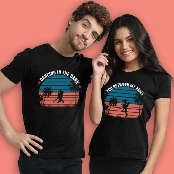 Couple T-shirts (Dancing in the Dark)
