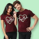 Couple T-shirts (Better Together)