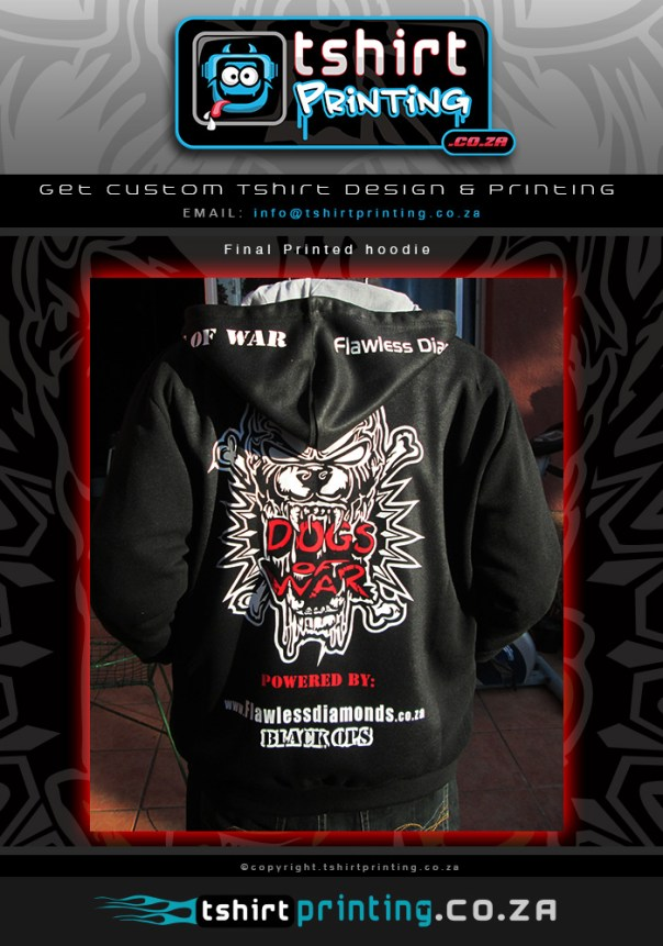 Custom hood printed on hoodie, cool hoody print, Awesome hoody