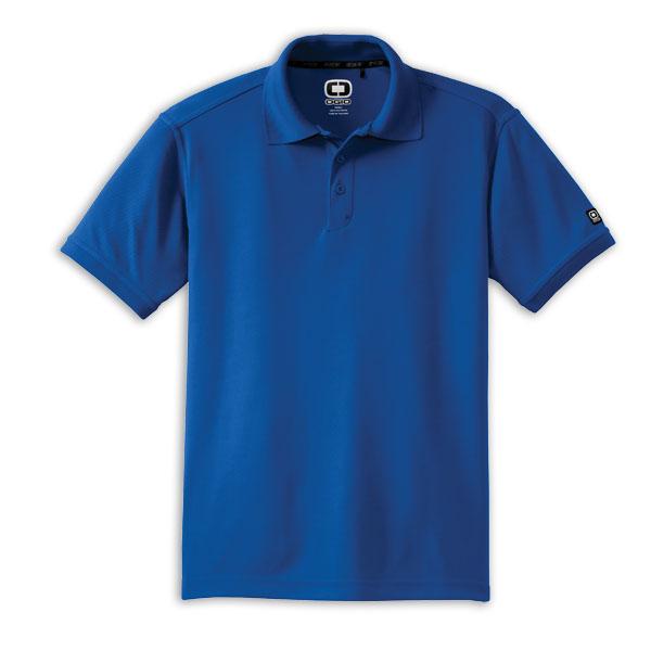 free tshirt template blue golf shirt