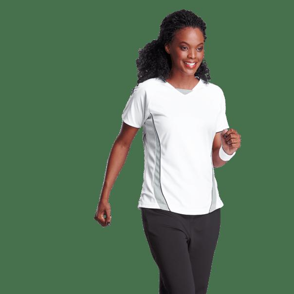 ladies sport tshirt printing