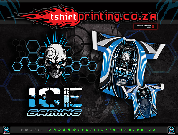 Killer Gaming Logo & Shirt Design and print service
