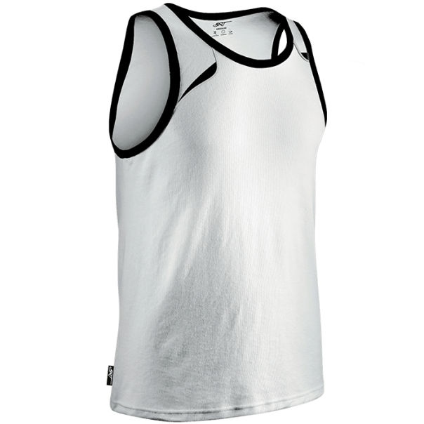running vest for men white