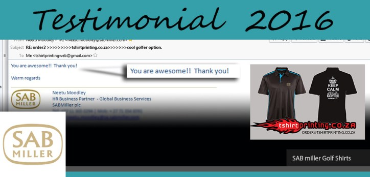 sab-shirts-review-tshirtprinting-co-za-you-are-awesome-review,SAB miller,SAB shirt,SAB shirtprinting,Who prints shirts for SAB