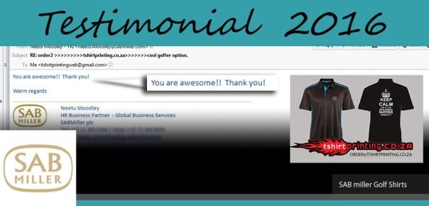sab-shirts-review-tshirtprinting-co-za-you-are-awesome-review,SAB miller,SAB shirt,SAB shirtprinting,Who prints shirts for SAB
