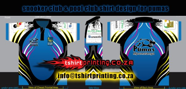 pool-club-shirts-pumas-shirts-outh-african-championship-shirts9ball-8ball-snooker-pool-club