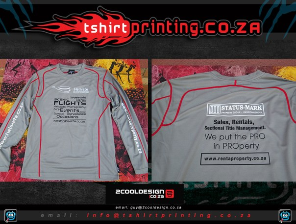 Sports-running-shirts-short-sleeve-long-sleeve-printed-for-sandton-business-real-estate-agent-helicopter-business