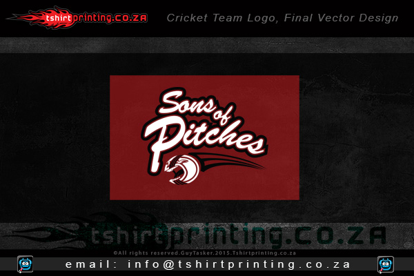 cricket-team-logo-design-for-sons-of-pitches-shirts