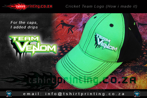 cricket-team-logo-printed-on-caps