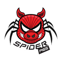 Spider Pigs cricket team logo by tshirtprinting.co.za
