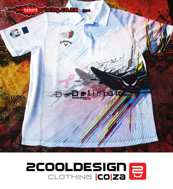 All over print golfer