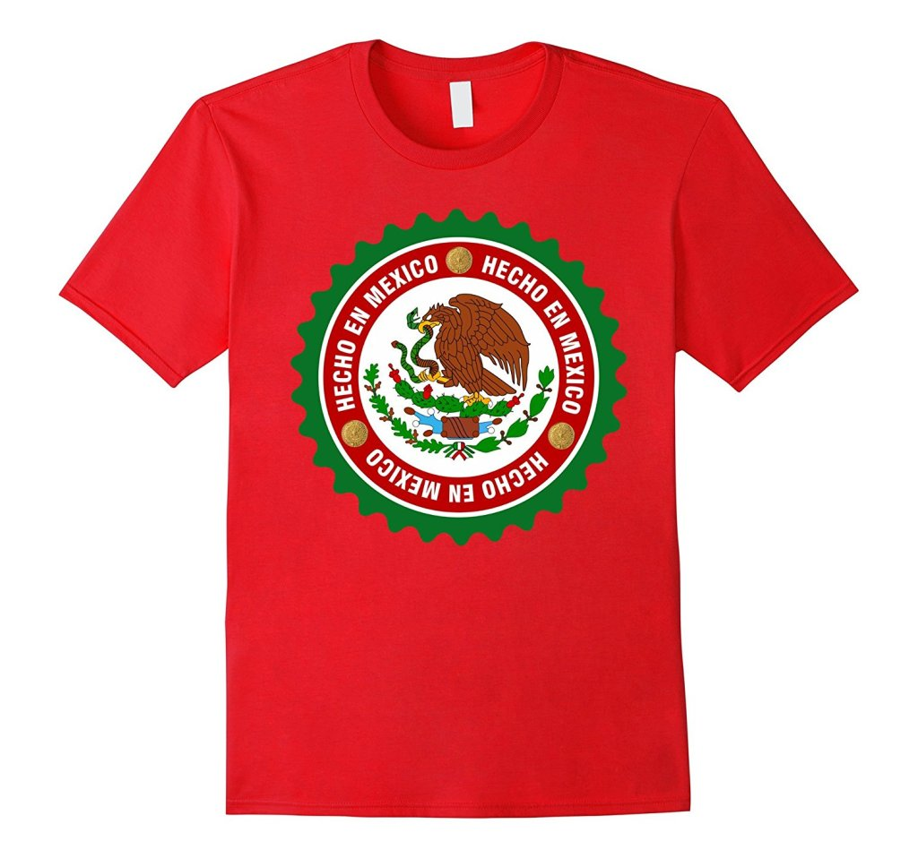 Hecho en Mexico Red T-Shirt