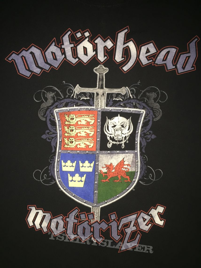 Motrhead  Motrizer 2008 tour shirt  TShirtSlayer TShirt and BattleJacket Gallery