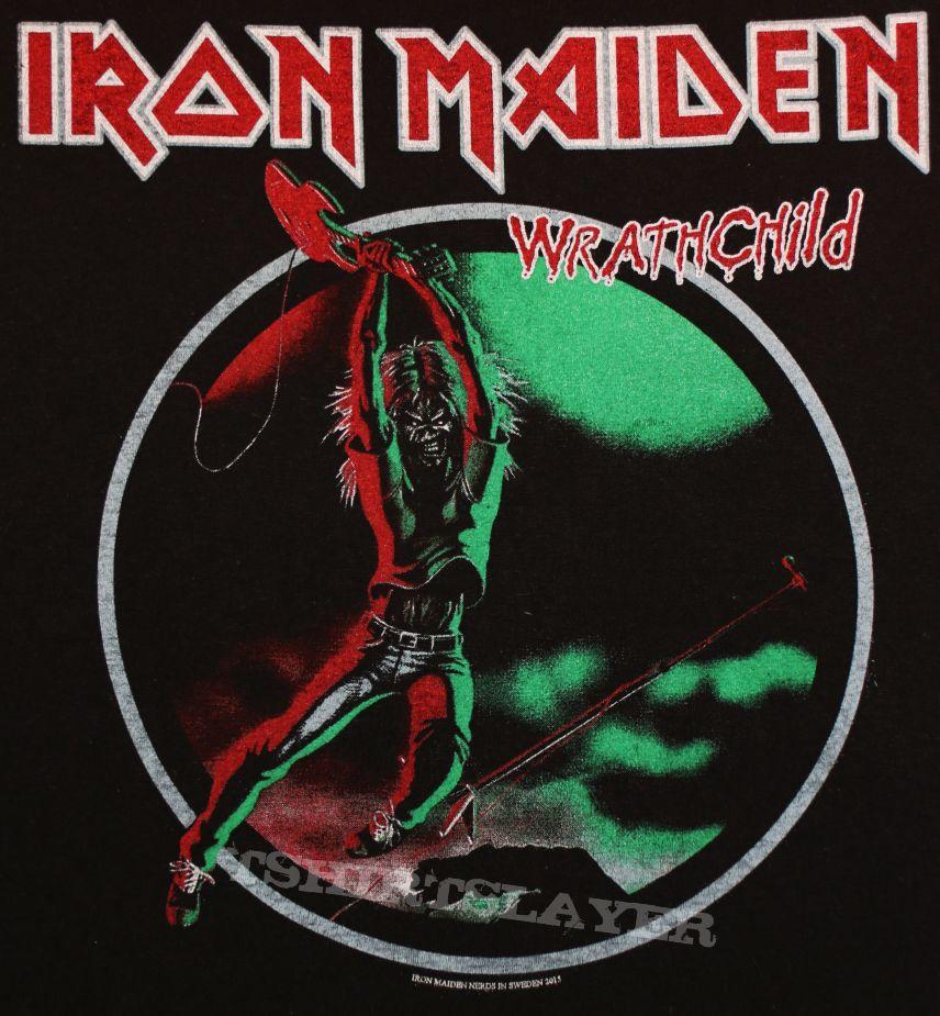 Iron Maiden  Wrathchild Shirt  TShirtSlayer TShirt and BattleJacket Gallery