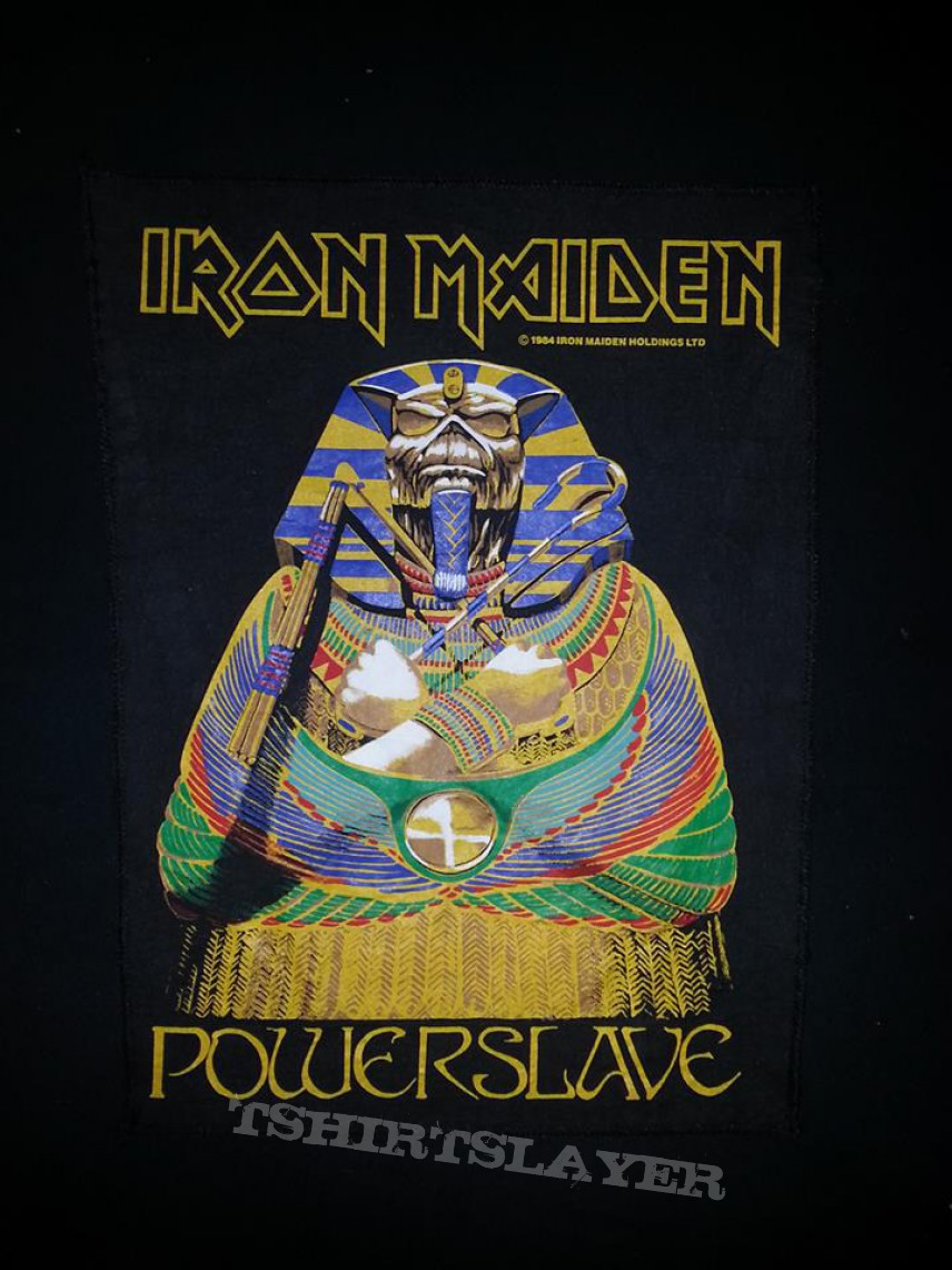 Iron Maiden Powerslave Backpatch  TShirtSlayer TShirt and BattleJacket Gallery