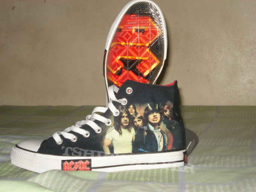 ACDC  Highway to Hell Converse Chuck Taylor shoes