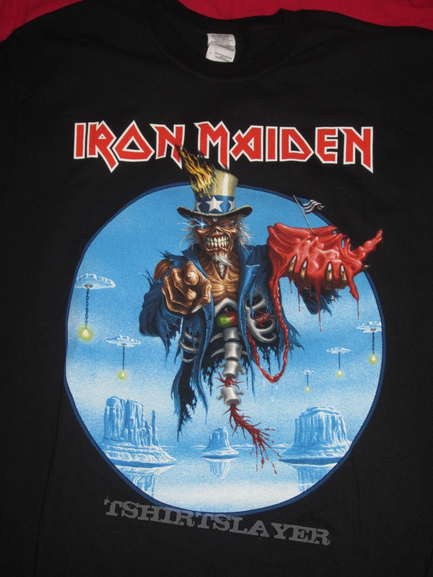 Iron Maiden Maiden England USA 2013 Tour shirt  TShirtSlayer TShirt and BattleJacket Gallery