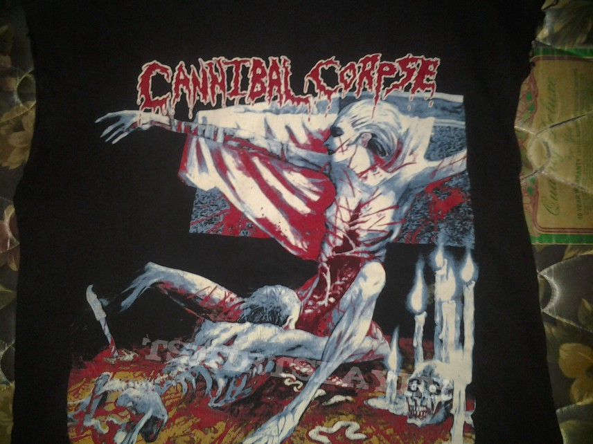 Vintage Cannibal Corpse Tomb Of The Mutilated Shirt 1993