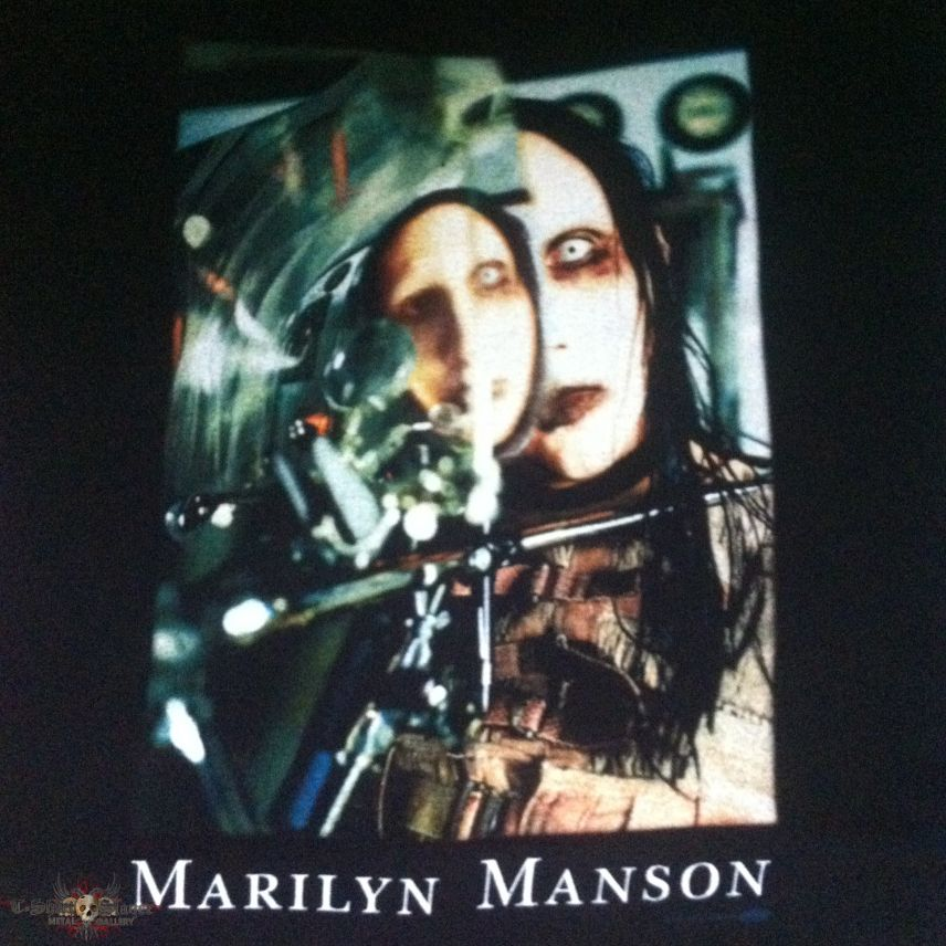 Marilyn Manson  The Beautiful People  Shirt  1997  TShirtSlayer TShirt and BattleJacket Gallery