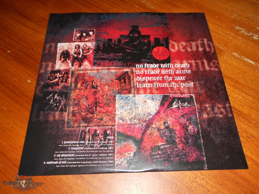 Sodom  Official Bootleg  The Witchhunter Decade Red LP