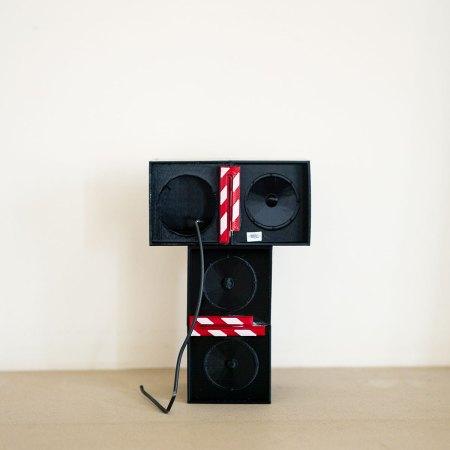 KLF Trancentral Speaker Stack Scale 3d Printed Model