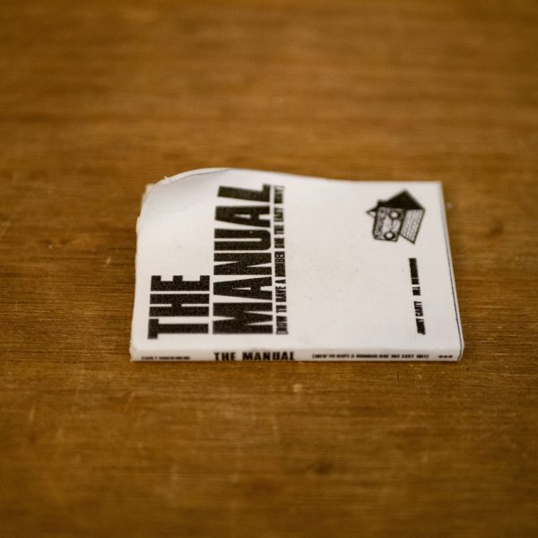 The Manual (How to have a Number One the Easy Way) - Miniature 3d Printed Reproduction Display Model