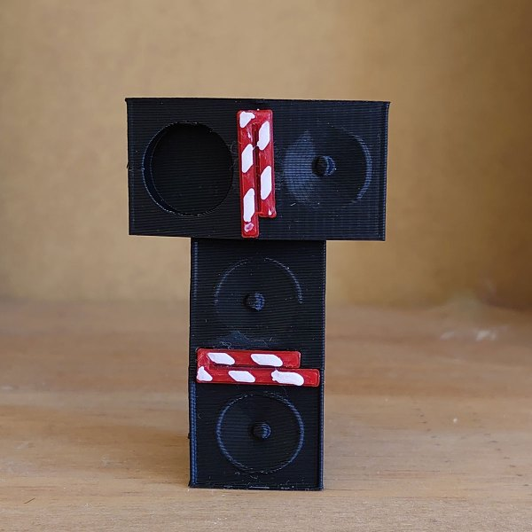 The KLF - Trancentral Speaker Stack USB Thumb Drive 16GB- 3D Printed to Order - Individual Serial Numbers