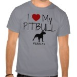 Pit Bull Dog Shirts