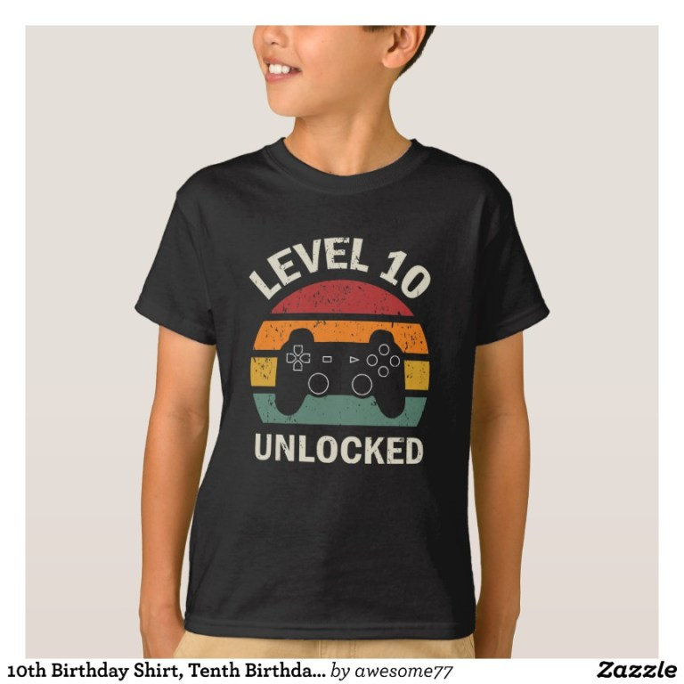 Video Game Shirts and TShirts