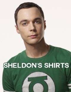 Shirts Sheldon Has Worn - The Big Bang Theory Shirts