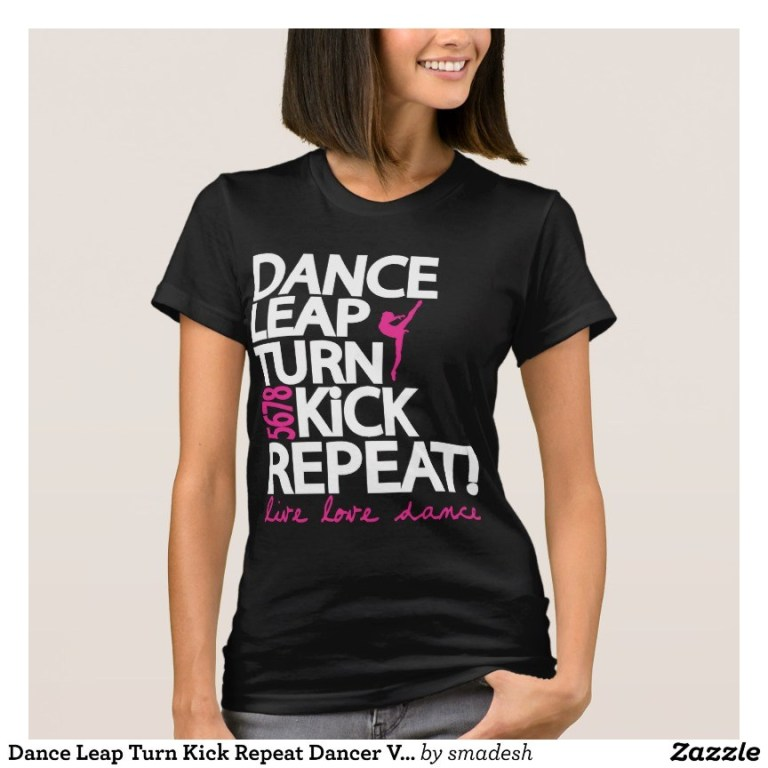The Best Novelty Dance Shirts and Tees