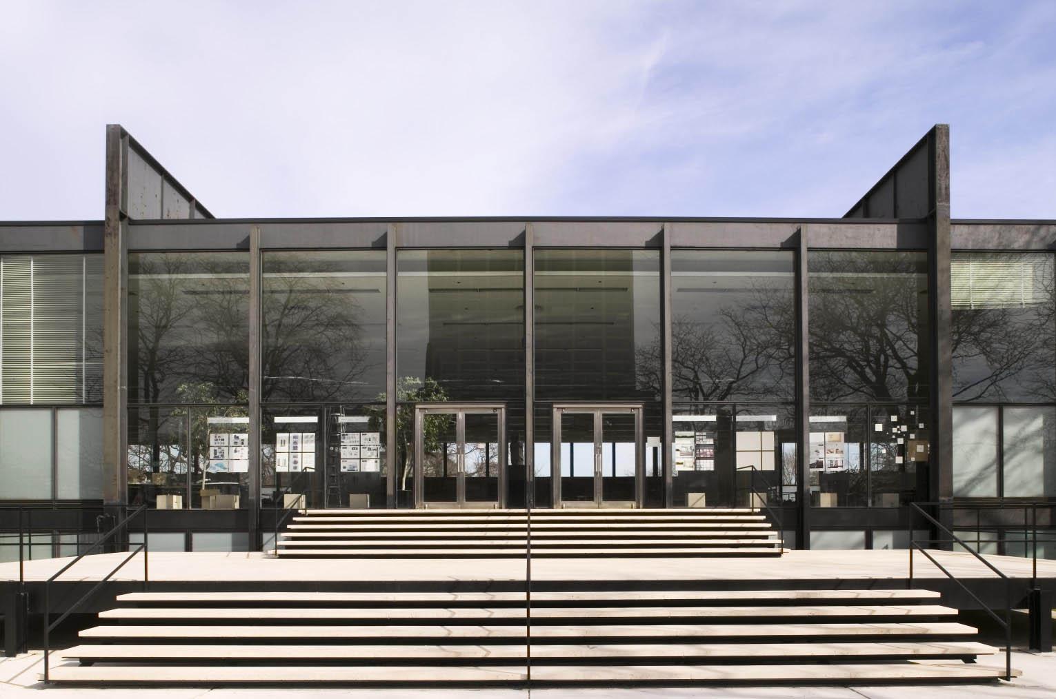 Ludwig Mies van der Rohe buildings