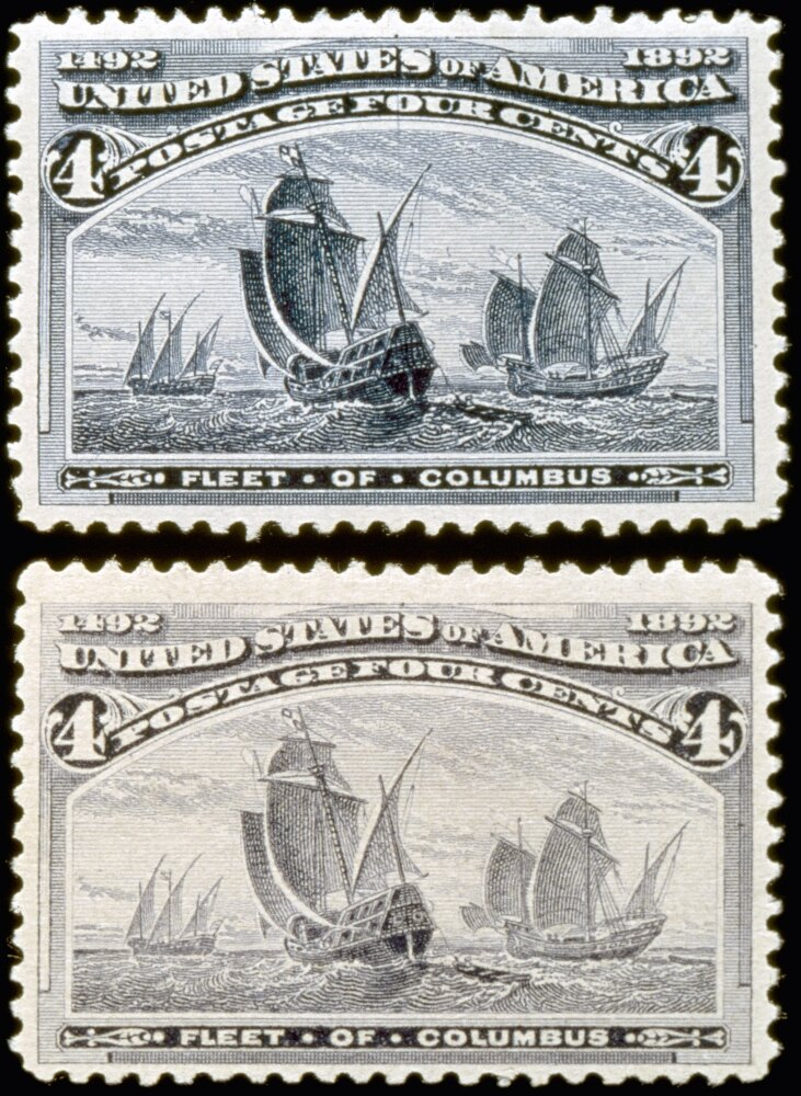 us postage stamp 1893