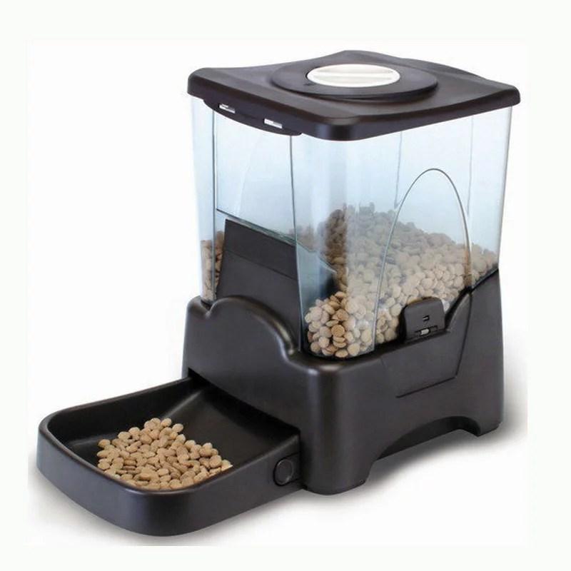 ☆Petwant☆10公升超大容量 LED顯示自動餵食器超大容量自動餵食器 自動寵物餵食器 寵物自動餵食器 定時餵食器 ...
