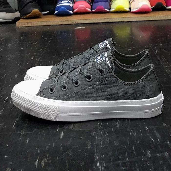 Converse Chuck Taylor All Star II 2代 低筒 灰色 LUNARLON 鞋墊 帆布 150153C   The One Shop 潮流鞋鋪 Keds 萬年店 - Rakuten樂天市場